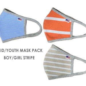 USA-Made-Boy-Girl-Kid-Youth-Junior-Mask-Colors-Stripe-American-Flag-Mask-School-Pack_Stripe-Fabric-Cloth-Face-Covering